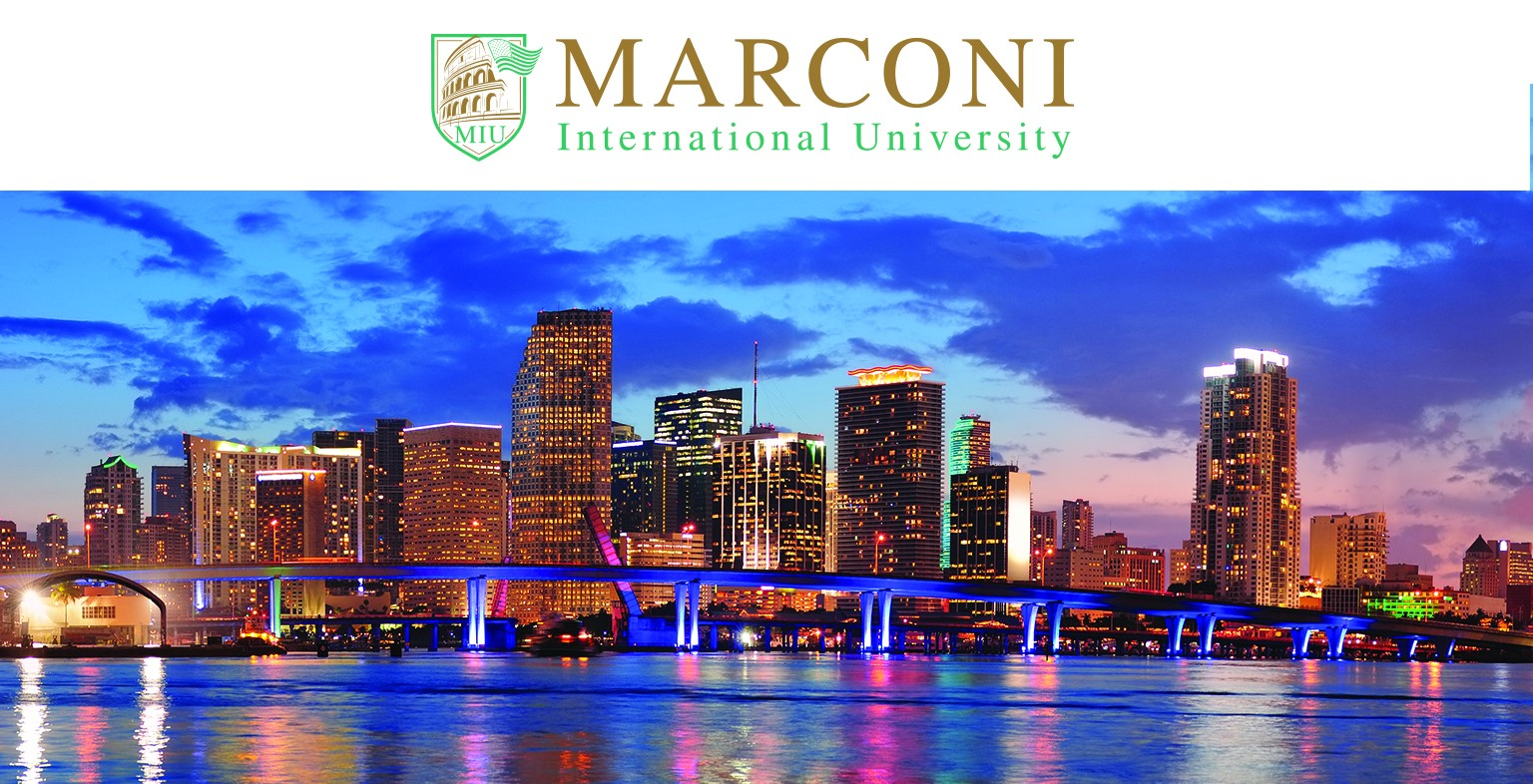 Study quality and affordable official American iMBA online with Marconi International University