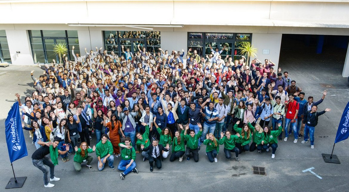 Audencia's international students