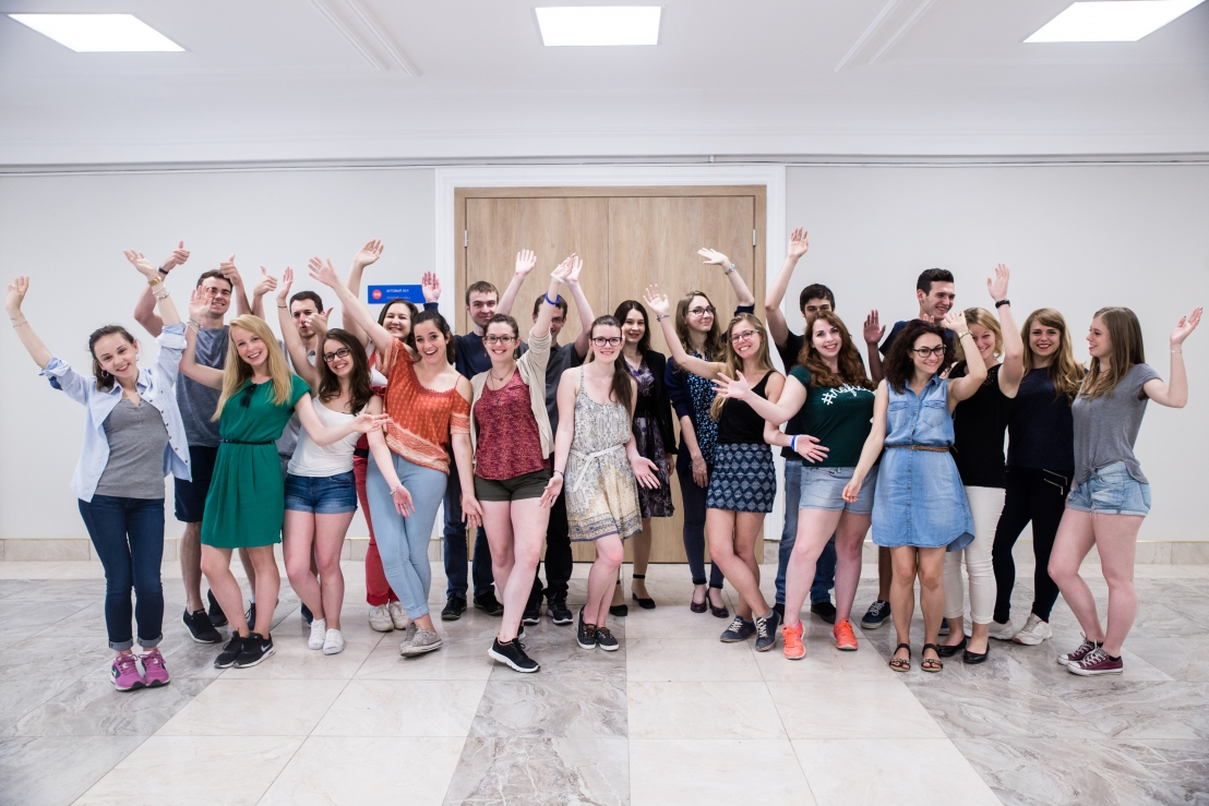Some of ITMO's international students
