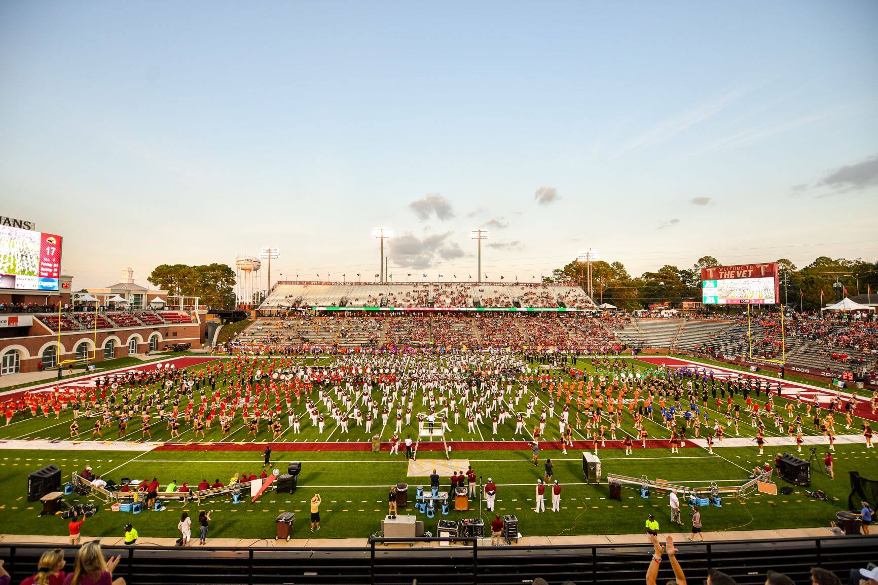 Band at Troy University Football Game