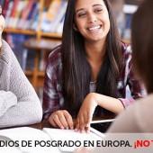 ¿Buscando un posgrado en un país Europeo? Visita la feria EuroPosgrados en Colombia