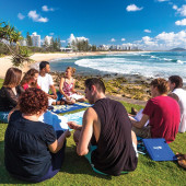 Estude no Paraíso: Australia Sunshine Coast